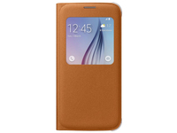 Samsung S View Cover Canvas (Orange)