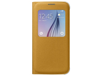 Samsung S View Cover Canvas (Gelb)