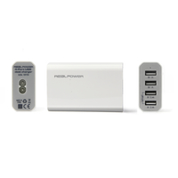 Ultron 160704 Innenraum Weiß Ladegerät für Mobilgeräte (Weiß)