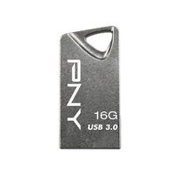 PNY T3 Attaché 16GB 16GB USB 3.0 Grau USB-Stick (Grau)