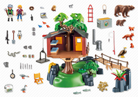 Playmobil Wild Life Abenteuer-Baumhaus (Mehrfarbig)