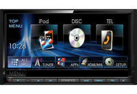 Kenwood Electronics DDX7015BT car media receiver (Schwarz)