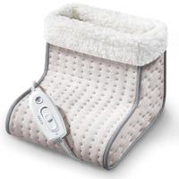 Sanitas SFW 10 100W Grau, Weiß Elektrischer Fußwärmer (Beige, Grau, Weiß)