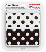 Nintendo New 3DS Cover 015 (Schwarz, Weiß)