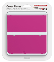 Nintendo New 3DS Cover 019 (Pink)