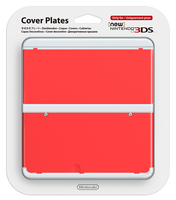 Nintendo New 3DS Cover 018 (Rot)
