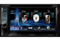 Kenwood Electronics DDX5015DAB car media receiver (Schwarz)
