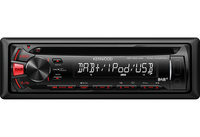 Kenwood Electronics KDC-DAB35U car media receiver (Schwarz)
