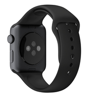 Apple MJ4N2ZM/A Uhrenarmband (Schwarz)