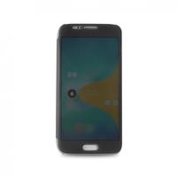 PURO Booklet Sense - Funda táctil para Samsung Galaxy S6, color negro 5.1Zoll Folio Transparent (Transparent)