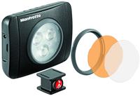 Manfrotto MLUMIEPL-BK Kamerablitze u. -beleuchtung (Schwarz)