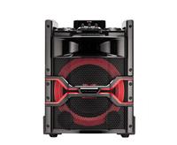 LG OM5542 Lautsprecher (Schwarz, Rot)