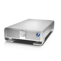 G-Technology G-DRIVE 6000GB Silber Externe Festplatte (Silber)
