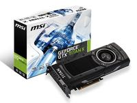 MSI NTITAN X 12GD5 NVIDIA GeForce GTX TITAN X 12GB (Schwarz)