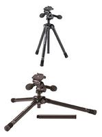 Velbon 455 Digitale Film/Kameras Schwarz Stativ (Schwarz)