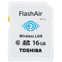 Toshiba FlashAir W-03 16GB (Weiß)