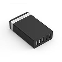 iTEC CHARGER5P40W Ladegeräte für Mobilgerät (Schwarz, Silber)