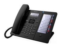 Panasonic KX-HDV230NE-B 6Zeilen LCD Wired handset Schwarz IP-Telefon (Schwarz)