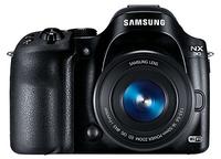 Samsung NX 30 Kit + 16-50 PZ (Schwarz)