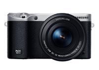 Samsung NX 500 + OIS 16-50mm (Schwarz, Silber)