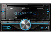 Kenwood Electronics DPX406DAB car media receiver (Schwarz)