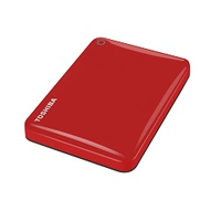 "Toshiba Canvio Connect II 2.5"" 3TB (Rot)"