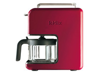 Kenwood Electronics CM 031 kMix Drip coffee maker 0.75l 6Tassen Rot, Edelstahl (Rot, Edelstahl)