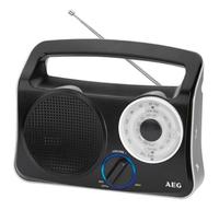 AEG TR 4131 Tragbar Schwarz Radio (Schwarz)