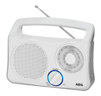AEG TR 4131 Tragbar Weiß Radio (Weiß)