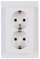 Kopp 941102063 CEE 7/3 Weiß Steckdose (Weiß)