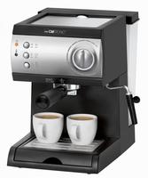 Clatronic ES 3584 Espresso machine 1.5l Schwarz, Edelstahl (Schwarz, Edelstahl)