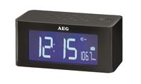 AEG MRC 4140 I Uhr Schwarz Radio (Schwarz)