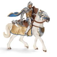 Schleich Ritter Greifenritter zu Pferd (Blau, Gold, Weiß)
