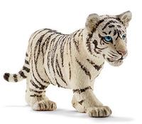 Schleich Wild Life Tigerjunges, weiß (Schwarz, Weiß)
