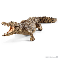 Schleich Wild Life Krokodil (Braun, Grün)