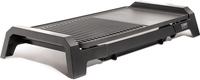Caso BQ 2200 Kontaktgrill Tisch Elektro 2200W Schwarz (Schwarz)