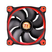 Thermaltake Riing 14 (Schwarz, Rot)