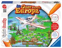 Ravensburger Quer durch Europa (Mehrfarbig)