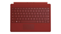 Microsoft Surface 3 Type Cover (Rot)