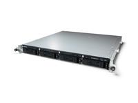 Buffalo TeraStation 5400RRS2 Windows Storage Server 2012 R2 8TB Speicherserver Rack (1U) Eingebauter Ethernet-Anschluss Schwarz, Grau (Schwarz, Grau)