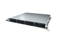 Buffalo TeraStation 5400RRS2 Windows Storage Server 2012 R2 16TB Speicherserver Rack (1U) Eingebauter Ethernet-Anschluss Schwarz, Grau (Schwarz, Grau)
