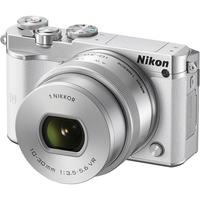 Nikon 1 J5 + 1 NIKKOR VR 10-30mm (Weiß)