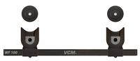 VCM Morgenthaler 17801 Flat Panel Wandhalter (Schwarz)