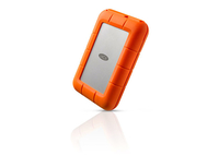 LaCie Rugged RAID 4TB (Orange, Silber)