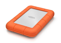 LaCie 1 TB SSD USB 3.0 (Orange, Silber)