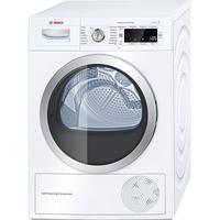 Bosch Serie 8 WTW875W0 Freistehend Frontlader 8kg A+++ Weiß Wäschetrockner (Weiß)