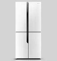 Hisense MKGNF440A+ GW Side-by-Side-Kühlschrank (Weiß)