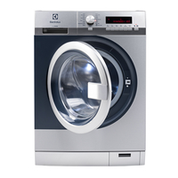 Electrolux myPRO WE170P Freistehend Frontlader 8kg 1400RPM A+++ Edelstahl Waschmaschine (Edelstahl)