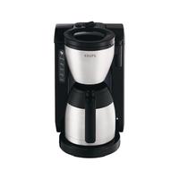 Krups KT 4208 Kaffeemaschine (Schwarz, Edelstahl)