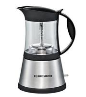 Rommelsbacher EKO 376/G Kaffeemaschine (Schwarz, Edelstahl)